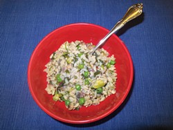 PHOTO BY BARRY EVANS - Risotto ain't rocket science.