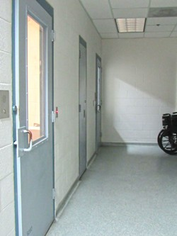 LINDA STANSBERRY - The medical unit in which four inmates have attempted suicide this year.