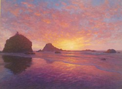 Paintings by Jeff Stanley at Strawberry Rock GALLERY.