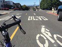 PHOTO BY JENNIFER SAVAGE - Hello, bike boulevard.