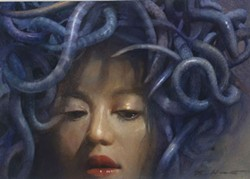 "COURTESY OF THE ARTIST - Robert Hunt's ""Medusa."""
