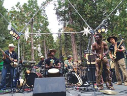 COURTESY OF THE ARTIST. - The Dogon Lights plays at the Halloween Boogie on Saturday, Oct. 24 at 8:30 p.m. at the Mateel Community Center. Tickets are $30.