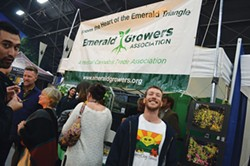 GRANT SCOTT-GOFORTH - Mendocino cannabis farmer Casey O'Neill, chair of the California Growers Association board, says rules prohibiting felons from getting medical marijuana business licenses are unfair to minorities.