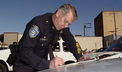 FILE PHOTO. - Former EPD Chief Murl Harpham.