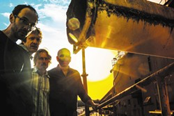 The Absynth Quartet plays New Year's Eve, Thursday, at Humboldt Brews. Show starts at 9:30 p.m. and tickets are $17.
