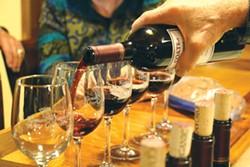 JENNIFER SAVAGE - Piloting your own flight of wines.
