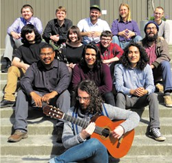PHOTO COURTESY OF THE ARTIST - The HSU Guitar Ensemble plays Saturday, April 2 at 8 p.m. in HSU's Fulkerson Recital Hall.
