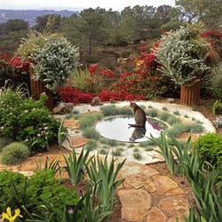 PHOTO BY STEVE GUNTHER FROM THE WATER-SAVING GARDEN - A dry oasis.