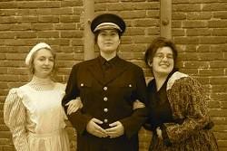 Katie Bach, Hallie Douglas, Emaya Young