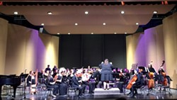 BY JOHANNA MAURO, AHS FINE ARTS INSTRUCTOR - ArMack Orchestra, directed by Cassie Moulton, on the AHS Fine Arts Center main stage.