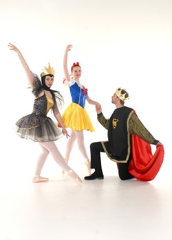 TINA'S PHOTOGRAPHY - Alexandria Lunn as The Queen, Hailey Austed as Snow White, and Cain Towers as the Prince