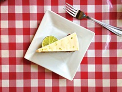 PHOTO BY JENNIFER FUMIKO CAHILL - Key lime pie fit for Papa Hemingway.