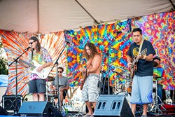 COURTESY OF THE ARTIST - Probably awash in tie dye, Dead tribute band Hardly Deadly will play the Jam Friday at 9 p.m. for a $6 cover.