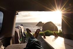 SEAN JANSEN - Sun's out, surf's up.