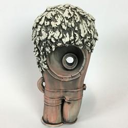 Greg Lysander, sculpture at Studio 424.