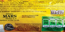 Mars, Inc. began labeling its GMO products earlier this year in response to Vermont's 2014 law, implemented July 1, 2016, and about to be nullified by the new federal law. Photo by Barry Evans