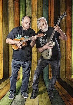 COURTESY OF THE ARTISTS - Cheech and Chong light up Blue Lake Casino at 8 p.m. on Saturday, Sept 17, man.
