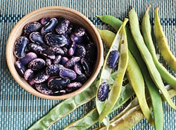 PHOTO BY SIMONA CARINI - Keeping it simple with scarlet runner beans.