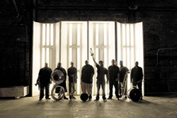 The Soul Rebels featuring Talib Kweli play the Van Duzer Theatre at 9 p.m. on Thursday, Sept 22. Courtesy of the artists
