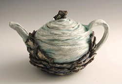 """COURTESY OF THE ARTIST - """"Teapot for an Aquifer,"""" by Becky Evans."""