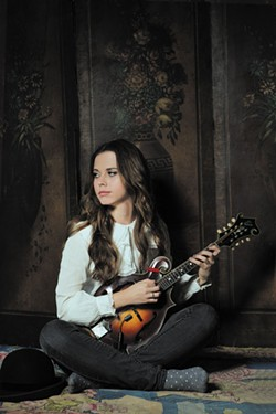COURTESY OF THE ARTIST - Sierra Hull plays mandolin at The Old Steeple on Wednesday, Oct. 19.