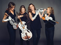 PHOTO COURTESY OF THE ARTISTS - Real Vocal String Quartet plays Friday, Oct. 21 and Saturday, Oct. 22 at the Arcata Playhouse at 8 p.m.