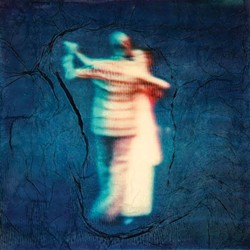 "COURTESY OF THE ARTIST - Kim's ""Dancer Two,"" photographic prints on canvas with acrylic paint."