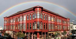 PHOTO BY THADEUS GREENSON - The Carson Block building.