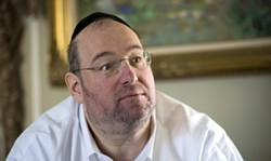 PHOTO COURTESY OF THE SACARAMENTO BEE / PAUL KITAGAKI JR. - Shlomo Rechnitz