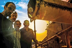 COURTESY OF THE ARTISTS - Absynth Quartet plays Humboldt Brews at 9 p.m. on Friday March 3.