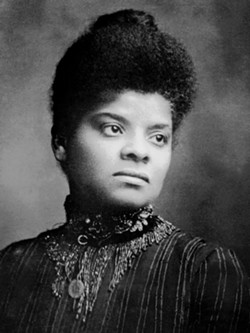 WIKIMEDIA COMMONS CREATIVE COMMONS LICENSE - Journalist and activist Ida B. Wells-Barnett.