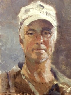 Sexton, self portrait