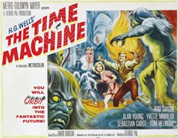 "(REYNOLD BROWN, PUBLIC DOMAIN) - Poster for George Pal's 1960 movie The Time Machine. It won the ""Special Effects"" Oscar."