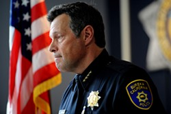 PHOTO BY MARK MCKENNA - Eureka Police Chief Andrew Mills.