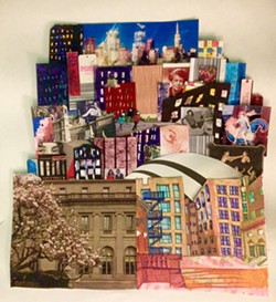 Collage by Lily Drabkin at Stokes, Hamer, Kirk & Eads, LLP.