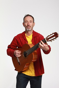 COURTESY OF THE ARTIST - Jonathan Richman plays the Arcata Playhouse at 8 p.m. on Saturday, July 29.