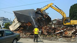 CITY OF EUREKA - Demolition of the home at 815 H St.