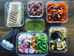 PHOTO BY RACHELE MCCLUSKEY - The takeaway from a plant-based meal preparation class.