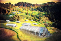 ILLUSTRATION BY JONATHAN WEBSTER - A future Humboldt landscape?
