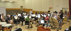 HSU Wind Ensemble - Photo credit:  Kelly Mathson