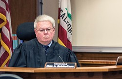 FILE - Judge Dale Reinholtsen is retiring when his term ends.