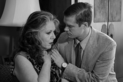 COURTESY OF FERNDALE REPERTORY THEATRE - Ruthi Engelke and Travis Morris in Who's Afraid of Virginia Woolf?