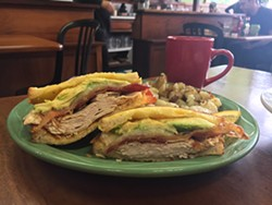PHOTO BY JENNIFER FUMIKO CAHILL - A breakfast club worth joining at Big Blue Café.