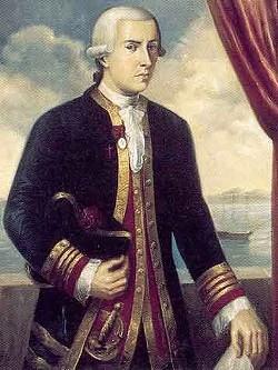 Juan Francisco de la Bodega y Quadra sailed into Trinidad Bay in 1775. - Photo Credit: Public Domain