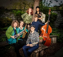 PHOTO BY ALBIE MITCHELL, COURTESY OF THE ARTISTS - Isle of Klezbos plays Temple Beth El on Monday, July 8 at 7 p.m.