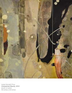 ACRYLIC ON PANEL BY LESLIE KENNETH PRICE - Unexpected Beauty