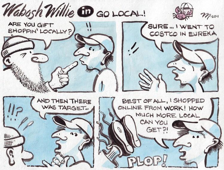 Wabash Willie in Go Local - JOEL MIELKE