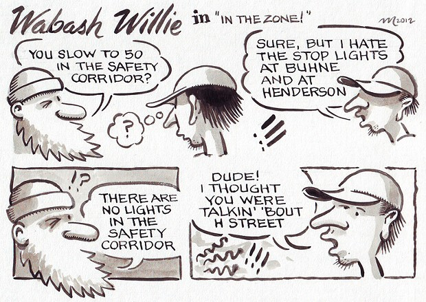 "Wabash Willie in ""In The Zone!"""