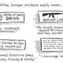 What Bumper Stickers Really Mean