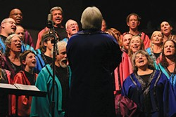 PHOTO COURTESY OF THE ARTIST. - Who: Arcata Interfaith Gospel Choir, When: Sunday, May 4 at 10 a.m., Where: Arcata Community Center, Tickets: $15, $12 seniors and students